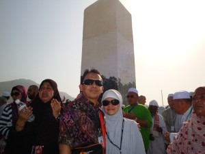 Hery Azwan & Yuli Yulianti at Jabal Rahmah