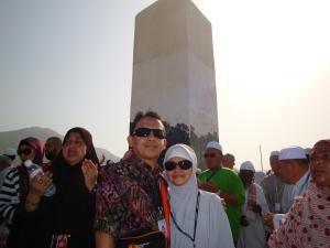 Hery Azwan & Yuli Yulianti at Jabal Rahmah