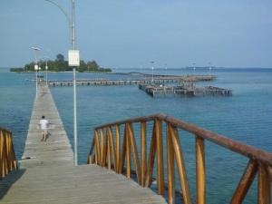 Hery Azwan di Pulau Tidung