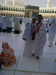 Hery Azwan di Mesjidil Haram