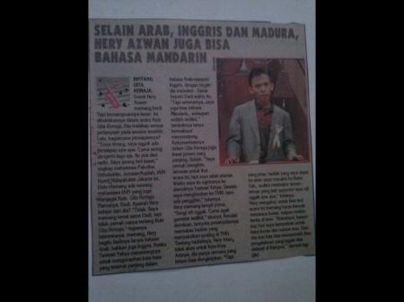 Liputan Acara Gita Remaja di Tabloid Bintang Indonesia, tahun 1992