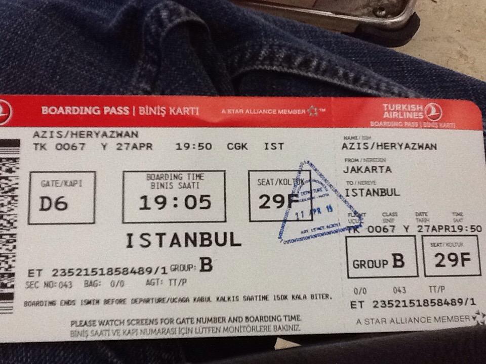 Negeri 3 Imperium (Liburan di Turki#1)