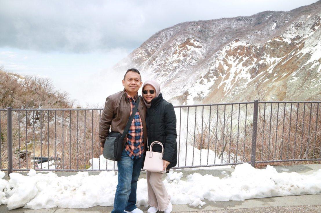 Seharian di Hakone